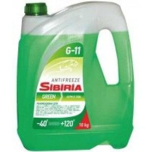 фото Sibiria Antifreeze ОЖ-40 G11 зеленый 1л