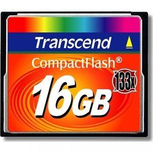фото Transcend 16 GB 133X CompactFlash Card TS16GCF133