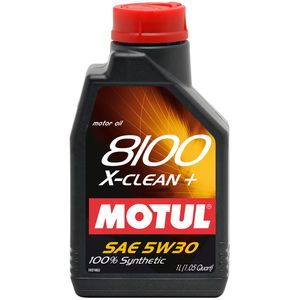 фото Motul 8100 X-Clean + 5W-30 5л
