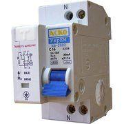 фото АСКО-УКРЕМ Дифференциальный выключатель ДВ-2002 16А 30мА 1+Нп. (A0030010005)