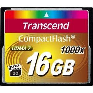 фото Transcend 16 GB 1000X CompactFlash Card TS16GCF1000