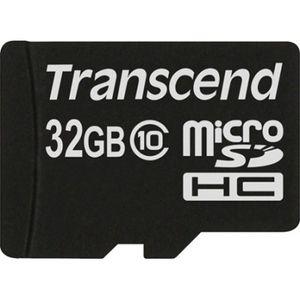 фото Transcend 32 GB microSDHC class 10 TS32GUSDC10