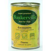 фото Baskerville Консервы с петухом, рисом и цукини 800 г