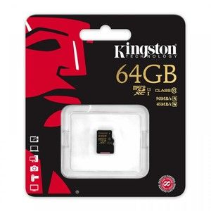 фото Kingston 64 GB microSDXC class 10 UHS-I SDCA10/64GBSP