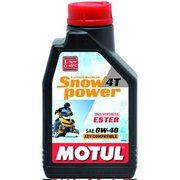 фото Motul SNOWPOWER 4T 0W-40 1л