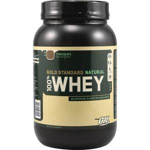 фото Optimum Nutrition Natural 100% Whey Gold Standard 909 g