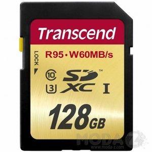 фото Transcend 128 GB SDXC UHS-I U3 TS128GSDU3