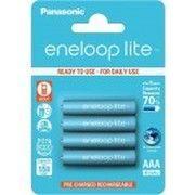 фото Panasonic AAA 550mAh NiMh 4шт Eneloop Lite (BK-4LCCE/4BE)