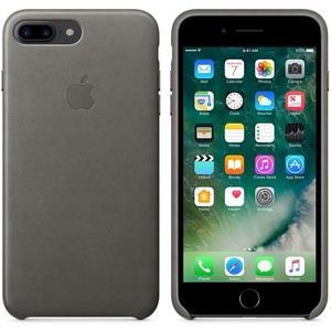 фото Apple iPhone 7 Plus Leather Case - Storm Gray MMYE2