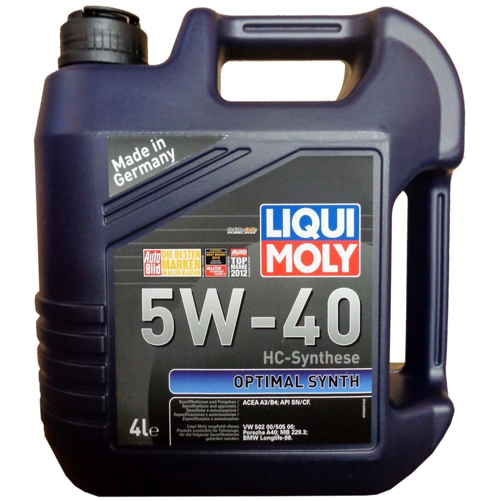Liqui Moly Optimal Synth 5W-40 4л