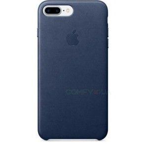 фото Apple iPhone 7 Plus Leather Case - Midnight Blue MMYG2