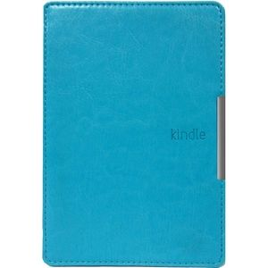 фото Amazon Kindle Paperwhite Leather Cover Light Blue