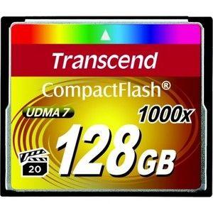 фото Transcend 128 GB 1000X CompactFlash Card TS128GCF1000