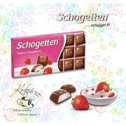 фото Schogetten Молочный шоколад Yoghurt-Strawberry