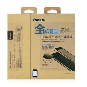 фото REMAX Tempered glass Full cover Apple iPhone 6 Black