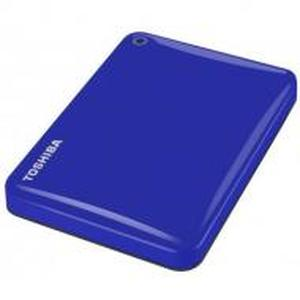 фото Toshiba Canvio Connect II 2TB USB3.0/Blue (HDTC820EL3CA)