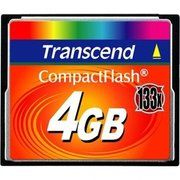 фото Transcend 4 GB 133X CompactFlash Card TS4GCF133