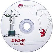 фото Datex DVD+R 4,7GB 16x Bulk 50шт (Jesus in Rio)