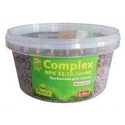 фото Rosla Комплексное минеральное удобрение для газона Complex (Комплекс), 2.5кг, NPK 25.10.10+ME, Весна-Лето,