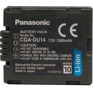 фото Аккумулятор типа Panasonic CGA-DU14