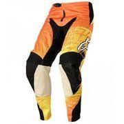 фото Alpinestars Мото брюки Charger текстиль оранжевые / красные / желтые (3721214 435)