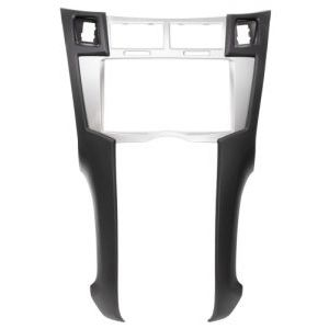 фото Carav Переходная рамка серого цвета для установки 2DIN автомагнитол в автомобили TOYOT