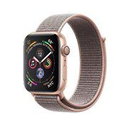 фото Apple Watch Series 4 GPS 44mm Gold Alum. w. Pink Sand Sport l. Gold Alum. (MU6G2)