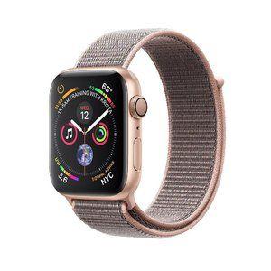 фото Apple Watch Series 4 GPS 44mm Gold Alum. w. Pink Sand Sport l. Gold Alum. (MU6G2)