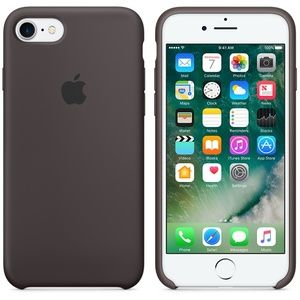 фото Apple iPhone 7 Silicone Case - Cocoa MMX22