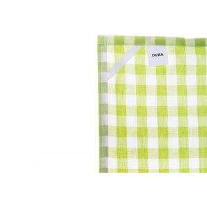 фото Duka Кухонное полотенце Firsk зеленое 50х70 см 1213016