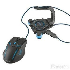 фото Trust GXT 213 USB Hub&mouse Bungee (20816)