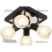 фото Altalusse Потолочный светильник INL-9269C-04 Chrome-Wengue