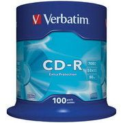 фото Verbatim CD-R 700MB 52x Spindle Packaging 100шт (43411)