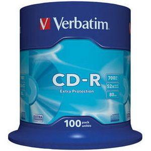 фото Verbatim CD-R 700MB 52x Spindle Packaging 100шт (43411)