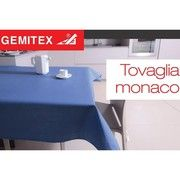 фото Gemitex Скатерть Monaco темно-зеленая 56740-GREEN