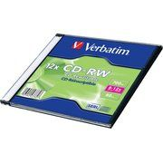 фото Verbatim CD-RW 700MB 12x Slim Case 1шт (43762)
