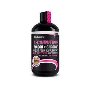 фото BioTechUSA L-Carnitine 70.000+Chrome 500 ml (50 servings) Orange