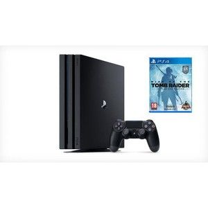 фото Sony PlayStation 4 Pro + Rise of The Tomb Raider