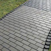 фото Плитка тротуарная Брусчатка 200x100x60 мм серая Тип плитка, размер 200x100x60 мм