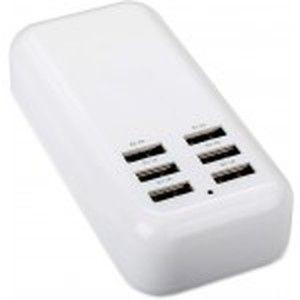 фото Drobak Multi Power 6xUSB (White) (905320)