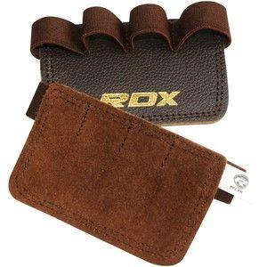 фото RDX Leather Training & Weight Lifting Grips 20207
