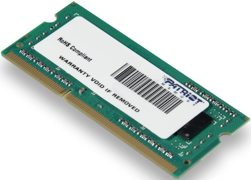 PATRIOT 4 GB SO-DIMM DDR3 1600 MHz (PSD34G160081S)