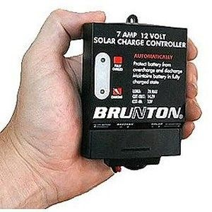 фото Brunton Контроллер заряда Solar Controller 12 Volt Charge Regulator (BF-SOLRCON)