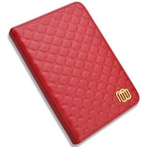 фото MyBook Leather Cover Quilted Red with LED light for Kindle 4/5 (MB28832)