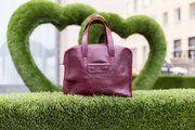фото Женская кожаная сумка Париж