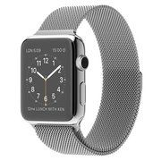 фото Apple 42mm Stainless Steel Case with Milanese Loop (MJ3Y2)