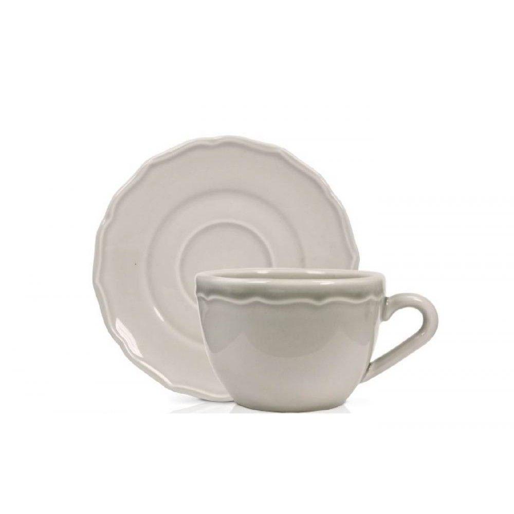 Duka Чашка для чая Emma серая маленькая 200 мл 1212536