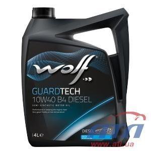 фото Wolf Oil Guardtech Diesel 10W-40 4л