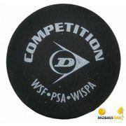 фото Dunlop Мяч для сквоша Competition желтый 1 шт 8476