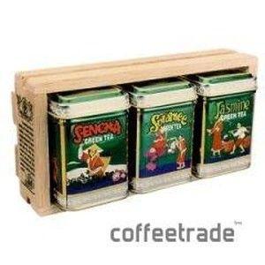 фото Mlesna Чай зелёный листовой Набор из 3-х видов зелёного чая мет. кор. 75г 08-011